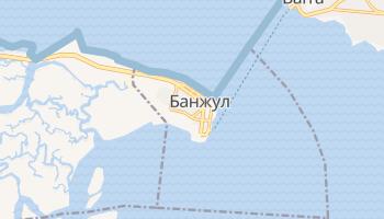 Банжул - детальна мапа