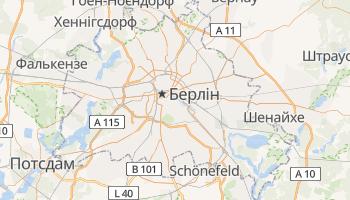 Берлин - детальна мапа