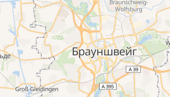 Брауншвейг - детальна мапа