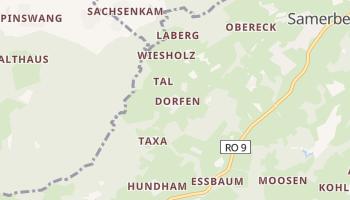 Дорфен - детальна мапа
