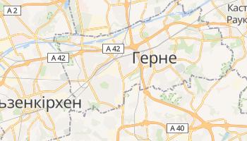 Герне - детальна мапа