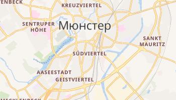 Манстер - детальна мапа