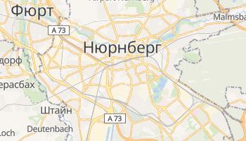 Нюрнберг - детальна мапа