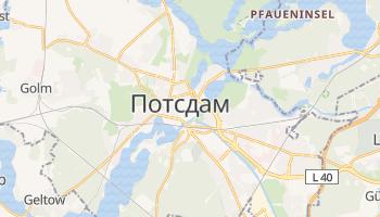 Потсдам - детальна мапа