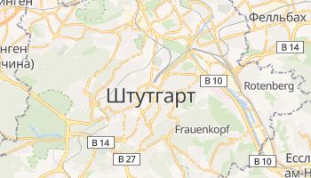 Штутгарт - детальна мапа