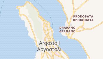 Аргостоліон - детальна мапа
