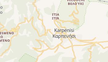 Карпенісіон - детальна мапа