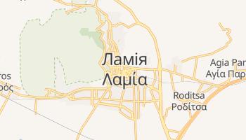 Ламія - детальна мапа