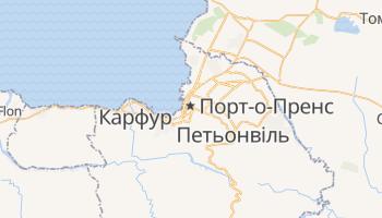 Порт-о-Пренс - детальна мапа