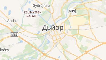 Дьйор - детальна мапа