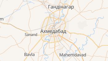 Ахмедабад - детальна мапа