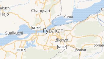 Ґувахаті - детальна мапа