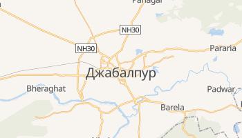 Джабалпур - детальна мапа