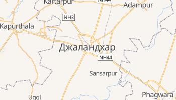 Джаландхар - детальна мапа
