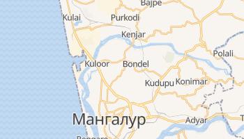 Мангалур - детальна мапа