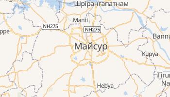 Майсур - детальна мапа