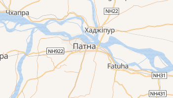 Патна - детальна мапа