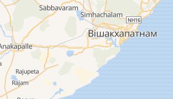 Вішакхапатнам - детальна мапа