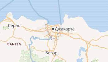 Джакарта - детальна мапа