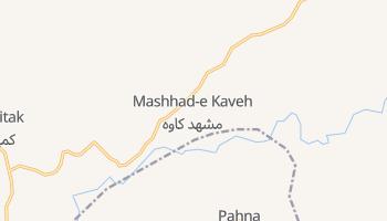 Мешхед - детальна мапа