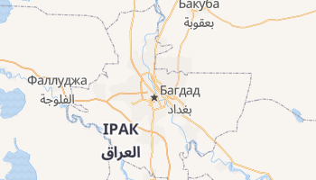 Багдад - детальна мапа