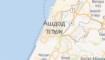 Ашдод - детальна мапа