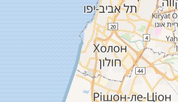 Бат-Ям - детальна мапа