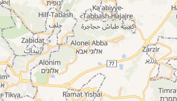Бейт-Шемеш - детальна мапа