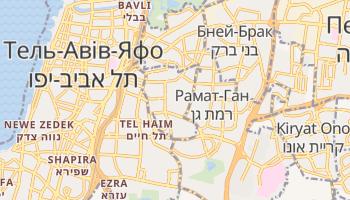 Ґіватаїм - детальна мапа