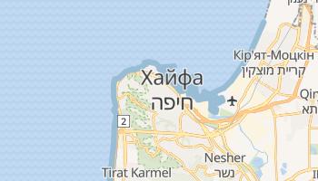 Хайфа - детальна мапа