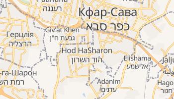 Год-га-Шарон - детальна мапа