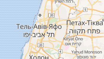 Рамат-Ган - детальна мапа