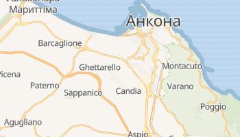 Анкона - детальна мапа
