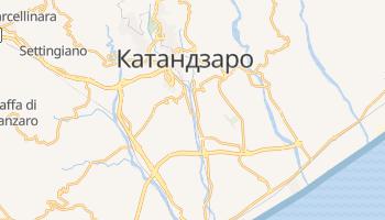 Катандзаро - детальна мапа