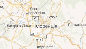 Флоренція - детальна мапа