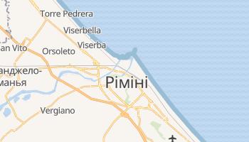 Ріміні - детальна мапа