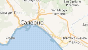 Салерно - детальна мапа