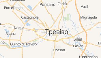 Тревізо - детальна мапа