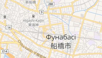Фунабасі - детальна мапа