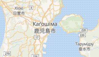 Каґосіма - детальна мапа