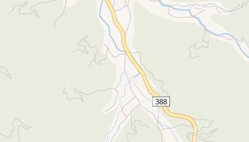 Наґано - детальна мапа