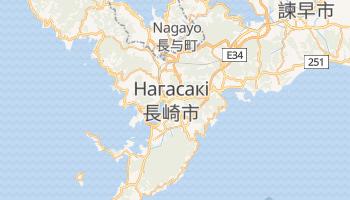 Наґасакі - детальна мапа