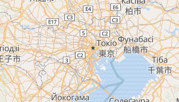 Токіо - детальна мапа