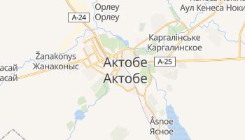 Актюбінск - детальна мапа