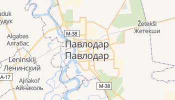 Павлодар - детальна мапа