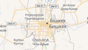 Бішкек - детальна мапа