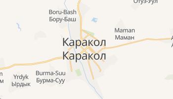 Каракол - детальна мапа