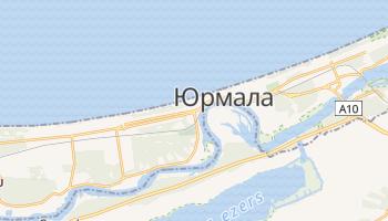 Юрмала - детальна мапа