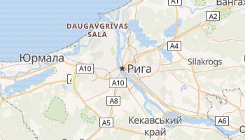 Рига - детальна мапа