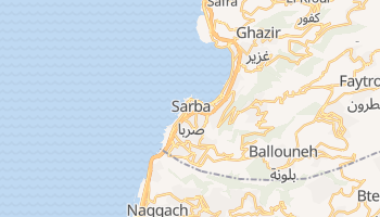 Джунія - детальна мапа